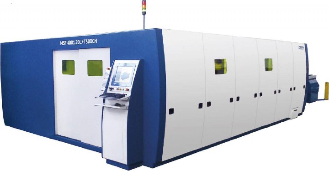 Fiber laser machine MSF 4001.20L+T300CH