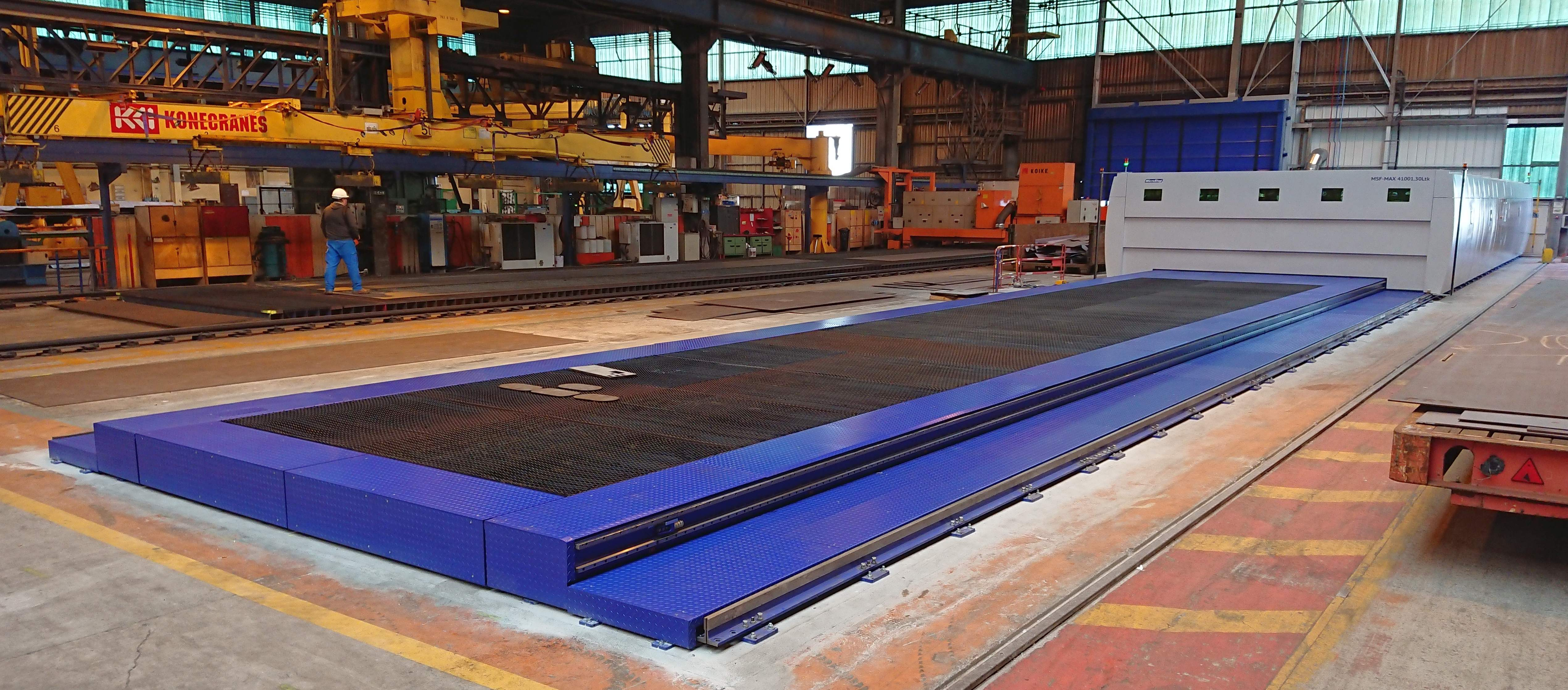Laser Cutting Machines for Large Scale Applications / News