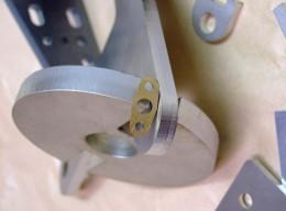 Vzorka rezania laserom na stroji MicroStep