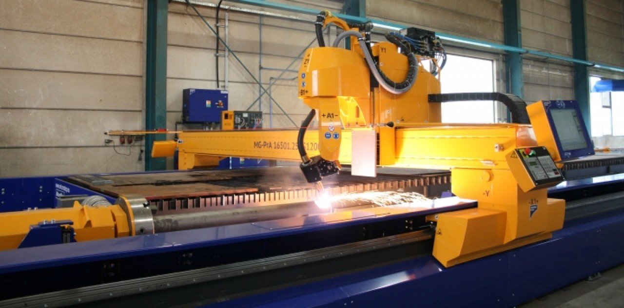 DBP - Direct Bevelling Process, pipe cutting